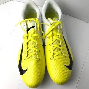 Nike Vapor Untouchable Yellow cleats 16